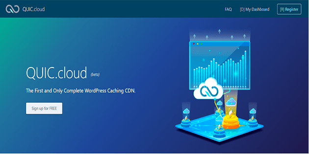 Konfigurasi CDN Quic Cloud