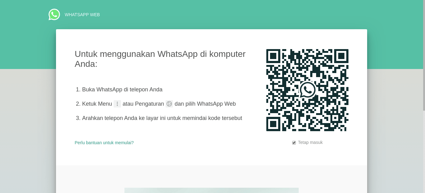 Cara Menggunakan Website WhatsApp di Komputer (PC)